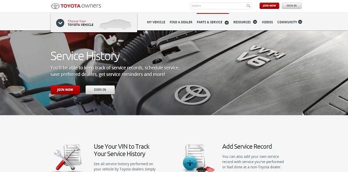 Бесплатная проверка сервисной истории всех автомобилей Toyota из США