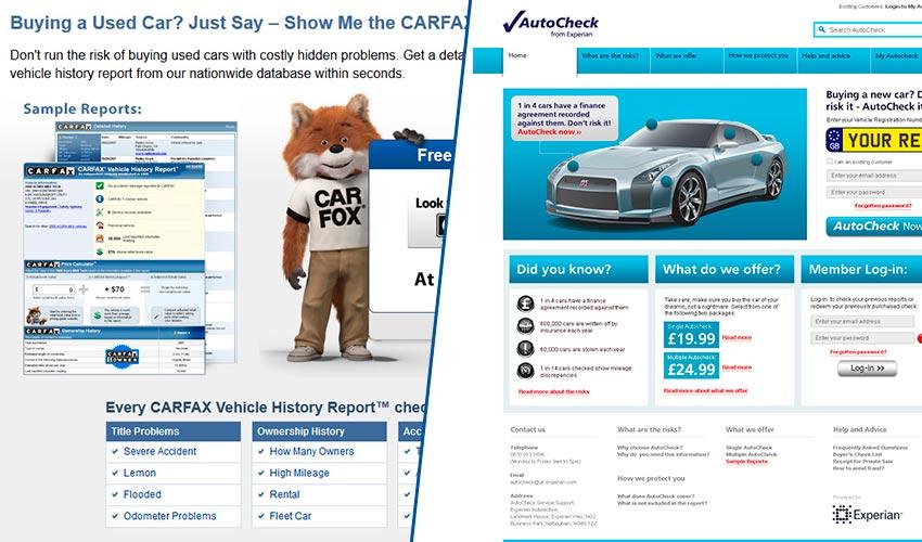 Что такое Carfax и Autocheck?